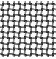 abstract grid mesh background monochrome vector image