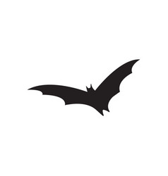 bat flying icon design template isolated vector image