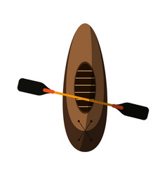 boat icon image vector image