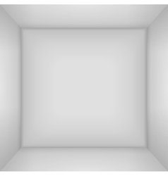 Box 3d top view inner space of the vector