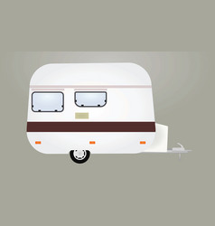camping vehicle vector image