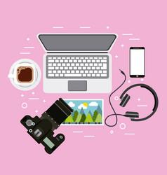 people activities equipment vector image