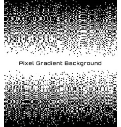 pixel abstract technology gradient background vector image