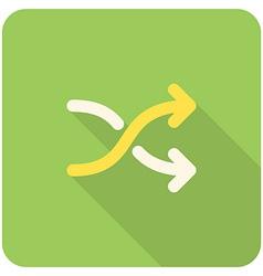 Random icon vector