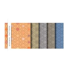 Set minimal pattern wallpaper pattern backg vector