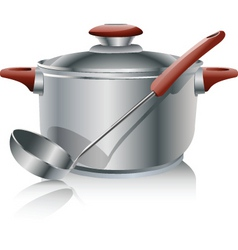 Stock pot vector