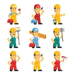 technician working a set people vector image