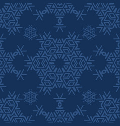 winter snow texture seamless pattern drawn vector image