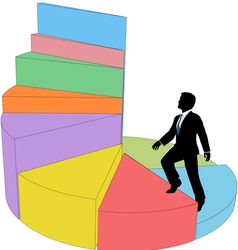 Business Ladder vector image vector image