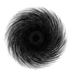 Abstract unusual strange shape dark abstract vector