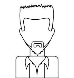 avatar drawn vector image vector image