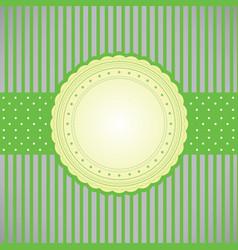 Blank card vector