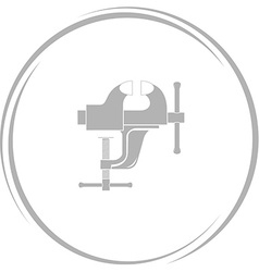 clamp vector image