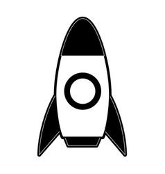 space rocket icon image vector image vector image