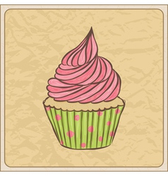 cupcakes07 vector image vector image