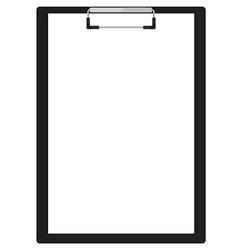 Clipboard vector image