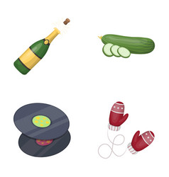 Alcohol art and other web icon in cartoon style vector