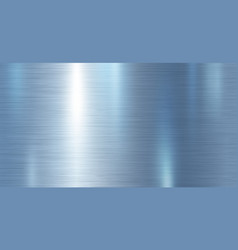 Blue metallic metal texture background vector