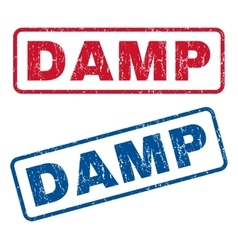 Damp Rubber Stamps vector