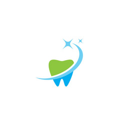 dental logo vector image
