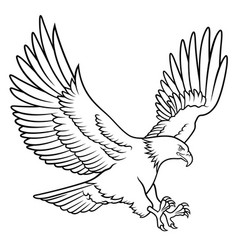 eagle 009 vector image
