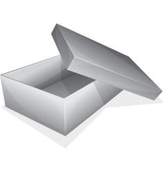 Empty box vector