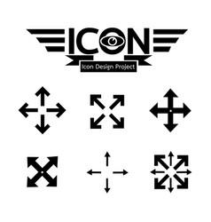 Fullscreen icon vector