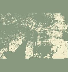green grunge texture vector image