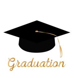 happy graduation background vector image