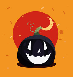 happy halloween day vector image