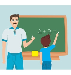 Math education vector