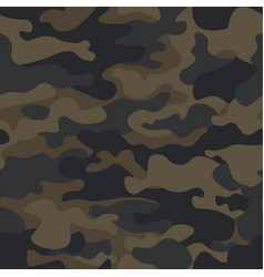 Mountain seamless camouflage pattern with abstract vector