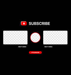 Next video youtube clean wireframe for vector