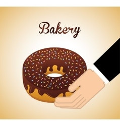 bakery shop design vector image vector image