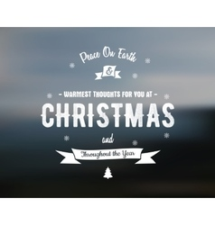 Merry Christmas lettering Wishes clipart vector image vector image