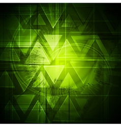 Green bright background vector image