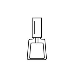 nail polish online icon vector image