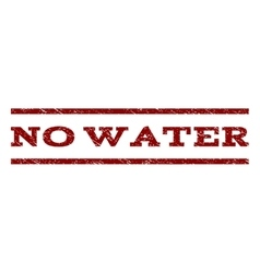 No Water Watermark Stamp vector