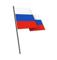 Russian federation flag vector