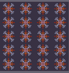 symbol grid vector image
