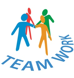 Teamwork Collaboration vector image