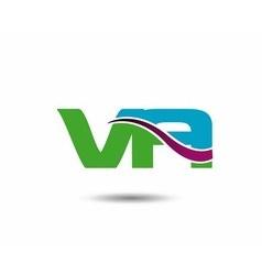 VA logo vector image vector image