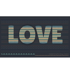 love 2016 vector image
