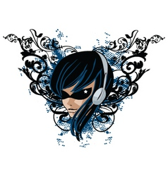 bannerface vector image vector image