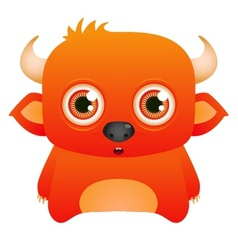cartoon cute character vector image vector image