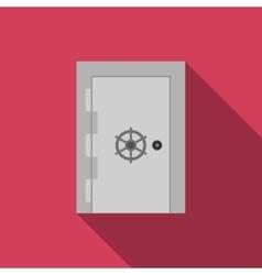 Safe door vector image vector image