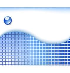 geometrical hitech template vector image vector image