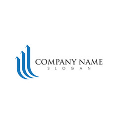 Business professional logo template vector
