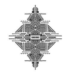 Creative tribal print vector