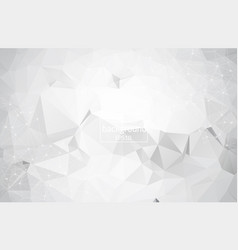 cristal triangle background eps 10 vector image